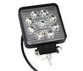 Lampa robocza 9 LED Halogen Szperacz 12-24V MEGA MOC