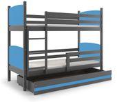 Łóżko piętrowe dziecięce meble dla dzieci Tami 160x80 + SZUFLADA