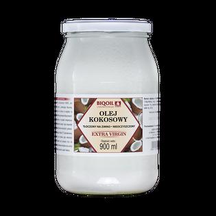 Olej kokosowy tłoczony na zimno 900 ml