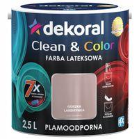 Dekoral Clean & Color 2,5L GORZKA LANDRYNKA