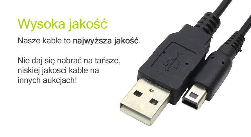 kabel USB ładowarka do Nintendo 2DS 3DS NEW 3DS XL przewód zasilanie zdjęcie 3