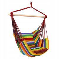 Krzesło Wiszące Brazylijskie z Poduszkami Ogrodowe Rainbow