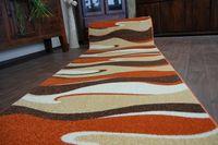 Chodnik HEAT-SET FRYZ REGGAE 8178 pomarańcz pomarańcz 100 cm