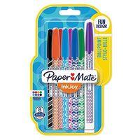 Zestaw 8 kolorowych długopisów Ink Joy Paper Mate