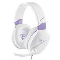 Zestaw słuchawkowy Turtle Beach Recon Spark pro PC, Xbox One, PS4, Nintendo (TBS-6220-02) Biały/Purpurowy