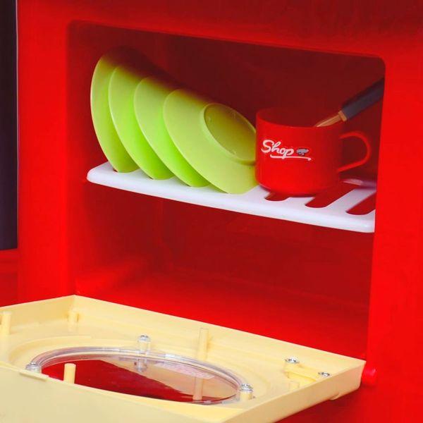 Kuchnia Dla Dzieci Duża Czerwona zdjęcie 2