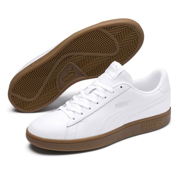 Buty Puma Smash v2 L M 365215 13 białe r.41