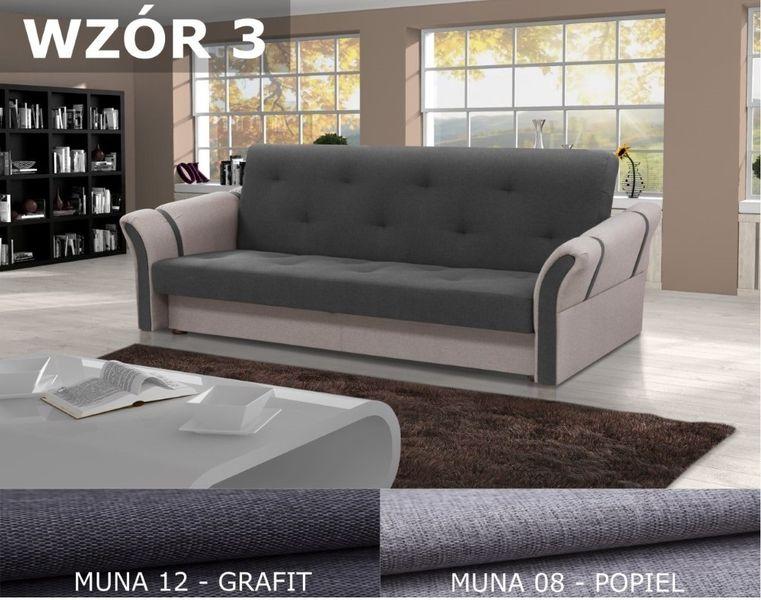 Wersalka Kanapa Sofa rozkładana Funkcja Spania MAGDA na Arena.pl