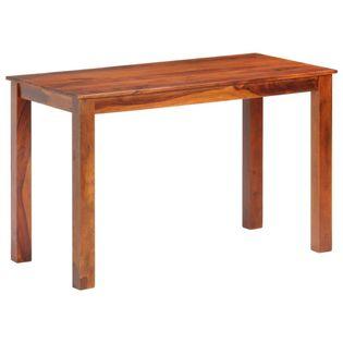 Stół jadalniany, 120 x 60 x 76 cm, lite drewno sheesham