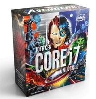 Intel Procesor Intel® Core™ i7-10700K Comet Lake 3.8 GHz/5.1 GHz 16MB FCLGA1200 AVENGERS BOX