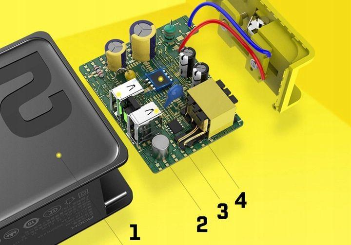 Ładowarka Sieciowa USB ROCK Quick Charge 3.0 30W zdjęcie 15