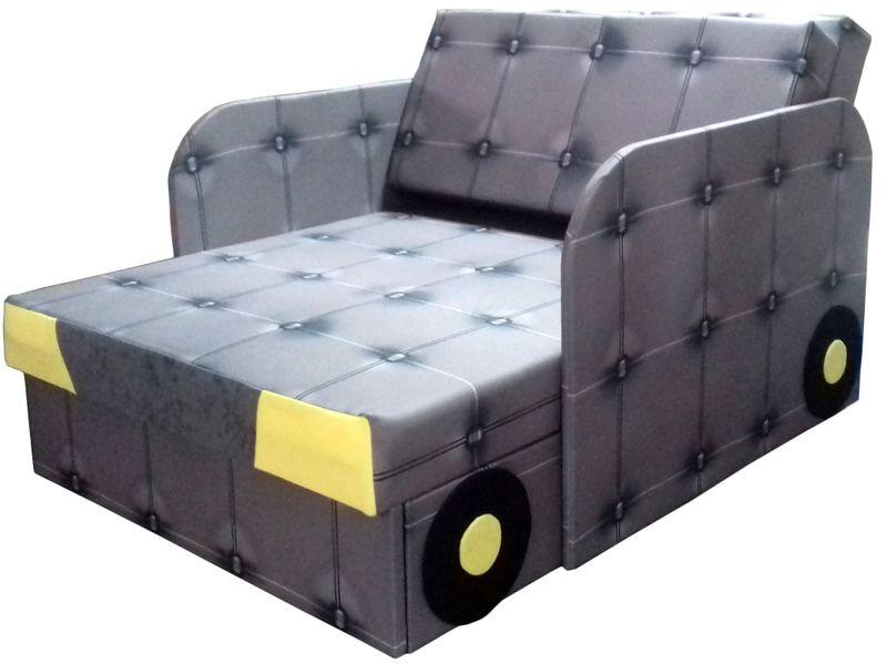 Łóżko, fotel , tapczanik dziecięcy z pojemnikiem na pościel zdjęcie 2
