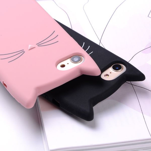 ETUI Case iPhone X Uszy Wąsy Kot zdjęcie 3