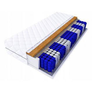 Materac MONACO 160x80 KOKOS KIESZEŃ 9stef 80x160 15cm