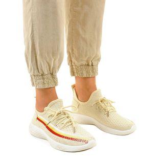Beżowe obuwie sportowe HB-48 r.39