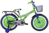 Rower dziecięcy 20 Racing Sport zielono-niebieski