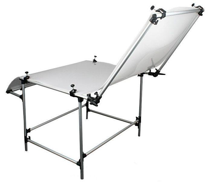 Stół bezcieniowy 60x130cm + 2 Imadła z trzpieniem zdjęcie 4