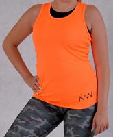 Bokserka slim S orange neon