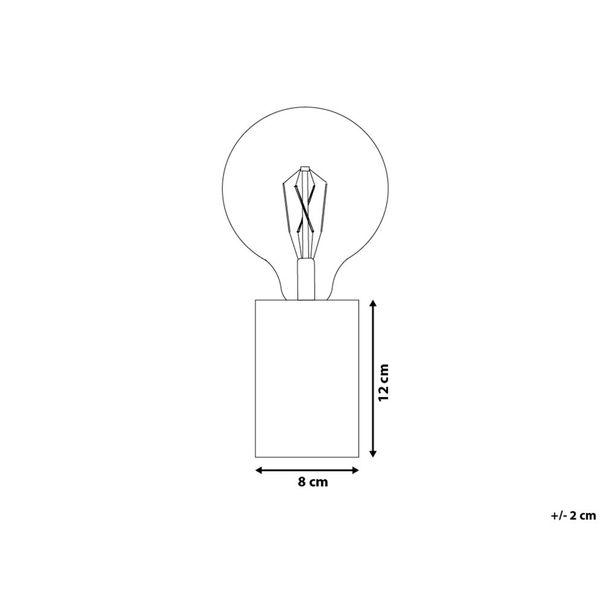 LAMPA STOŁOWA BIURKOWA DREWNIANA zdjęcie 5