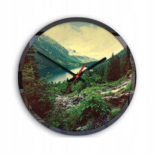 Zegar Ścienny MORSKIE OKO Krajobraz Góry Tatry