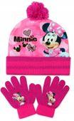 Czapka Rękawiczki Komplet Myszka Minnie