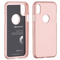 Etui iPhone X / XS Mercury iJelly Case RoseGold