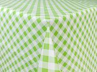 Obrus Cerata Ozdobna Krata Zielona Na Stół 140cm x 10cm CA434