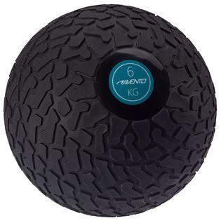 Avento Piłka slam ball z teksturowaną powierzchnią, 6 kg, czarna