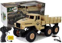 Ciężarówka Auto Zdalnie Sterowane 1:18 Wojskowe Piaskowe