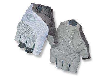 Rękawiczki damskie GIRO TESSA GEL krótki palec grey white roz. L (obwód dłoni 190-204 mm / dł. dłoni 185-195 mm) (NEW)