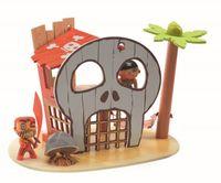 DJECO Wyspa Piratów z figurką - Arty Toys