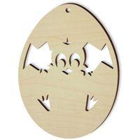 zawieszka decoupage Wielkanoc kurczak w jajku x10