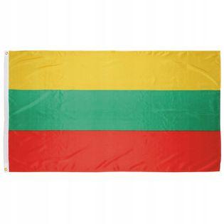 Flaga na maszt 90 x 150 cm Litwa