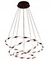 Lampa GEMINI wisząca ring okrąg żyrandol 36+45+56 cm LED 75W Wobako