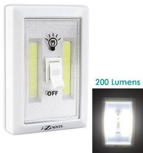 Ledowa lampka bezprzewodowa 2 x 1,5w do szafy.