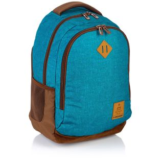 Plecak szkolny młodzieżowy Astra Head HD-56, niebieski