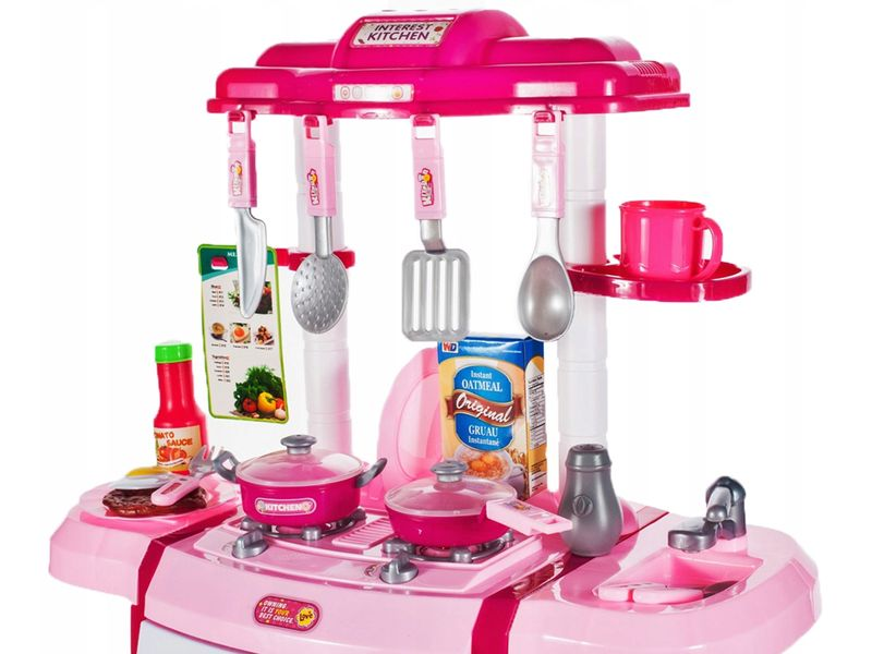 Kuchnia dla dzieci Piekarnik Zlew + Akcesoria Y162Z zdjęcie 9