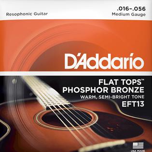Struny do gitary rezofonicznej Daddario EFT13