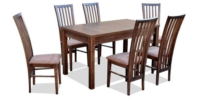 Stół Rozkładany 6 Krzeseł Z44 Do Kuchnido Jadalni
