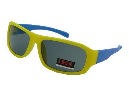 Okulary przeciwsłoneczne UV 400 dziecięce, ŻÓŁTO-NIEBIESKIE