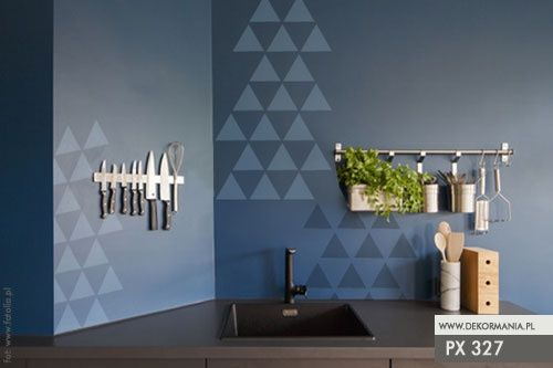 Szablon malarski PX 327, PX327, trójkąt, trójkąty Rozmiar - L, Szablon - PCV zdjęcie 1