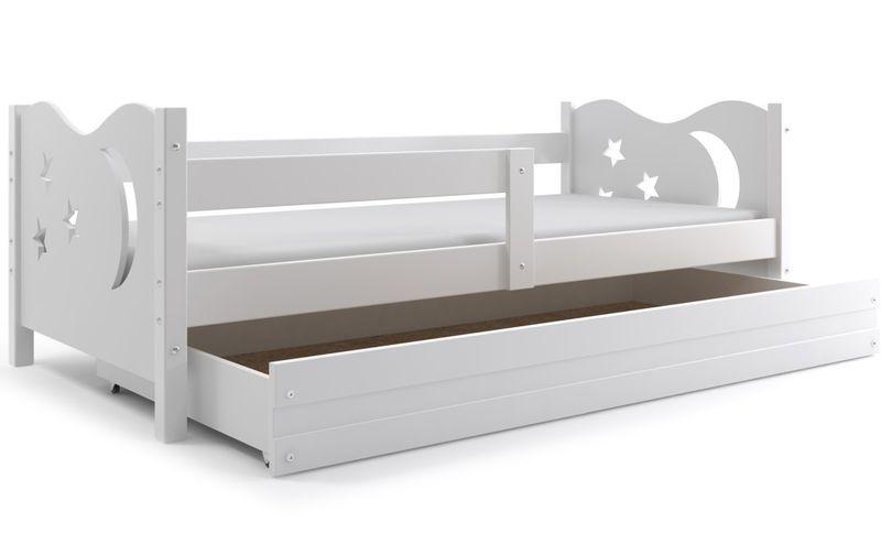 Łóżko łóżka Mikołaj dziecięce 160x80 parterowe + SZUFLADA zdjęcie 15