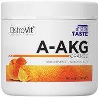 OstroVit Pure A-AKG 200g - ARGININA, MEGA EFEKT Smak: Pomarańczowy
