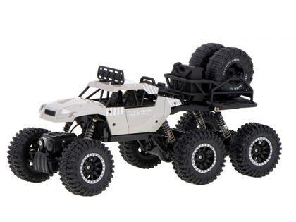 Samochód Rc 6X6 Crawler Pick-Up 2.4Ghz Szary