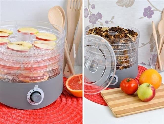 Suszarka do grzybów, owoców i warzyw z akcesoriami zdjęcie 52