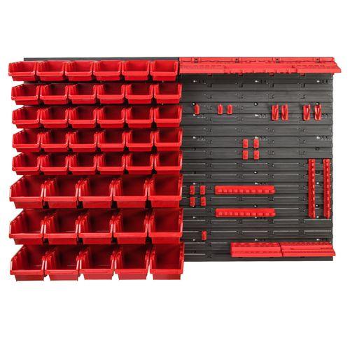 Tablica ścianka narzędziowa do garażu + 45 kuwet PRO-MIX17 na Arena.pl