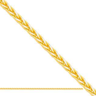50cm łańcuszek fantazyjny ,żółte i białe złoto 585/14k