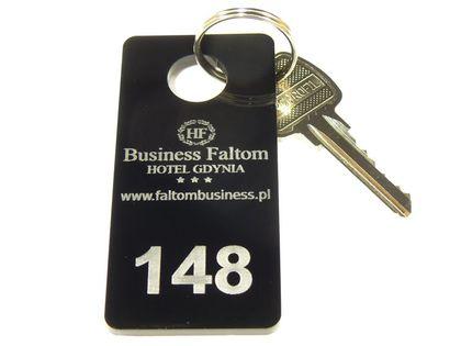 Numerki do szatni breloki do kluczy hotelowych 3x6
