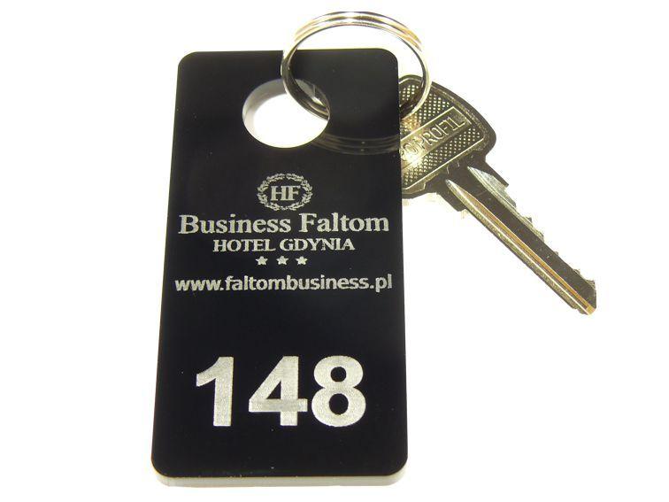 Numerki do szatni breloki do kluczy hotelowych 3x6 na Arena.pl