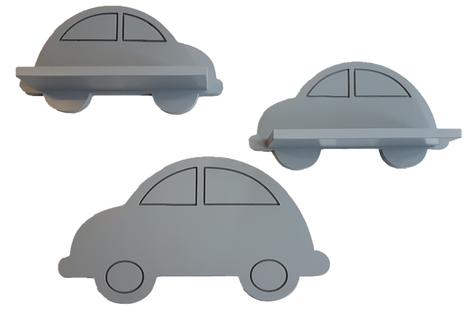Półka Auto Auta zest. 3 szt wersja - PREMIUM